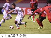 Купить «9 Andy Reyes. Costa Rica earned a 1-0 win over Trinidad & Tobago on Wednesday february 22, 2017 at the Estadio Nacional. CONCACAF Under-20 Championship.», фото № 25710404, снято 22 февраля 2017 г. (c) age Fotostock / Фотобанк Лори