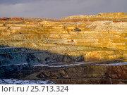 Купить «Панорама карьера», фото № 25713324, снято 15 мая 2008 г. (c) Хайрятдинов Ринат / Фотобанк Лори
