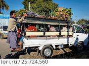 Купить «Myanmar (Burma), Mandalay Region, Nyaung-U, Street Scenes», фото № 25724560, снято 8 июля 2020 г. (c) age Fotostock / Фотобанк Лори
