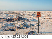 Купить «View of the crystal-digging areas . Salt Plains National Wildlife Refuge, Oklahoma, US», фото № 25729604, снято 1 июля 2012 г. (c) Ирина Кожемякина / Фотобанк Лори