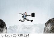 Купить «Overcoming fear of failure . Mixed media . Mixed media», фото № 25730224, снято 10 февраля 2007 г. (c) Sergey Nivens / Фотобанк Лори
