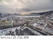 Купить «Магадан. Центр. Зима», фото № 25732308, снято 23 февраля 2019 г. (c) Антон Афанасьев / Фотобанк Лори