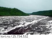 Купить «Река Бурея ниже бурейской ГЭС», фото № 25734532, снято 12 июля 2016 г. (c) Андрей Пашков / Фотобанк Лори
