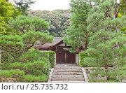 Купить «Малый храм Рёгин-ан на территории храма Тофуку-дзи в Киото, Япония», фото № 25735732, снято 25 июля 2016 г. (c) Иван Марчук / Фотобанк Лори