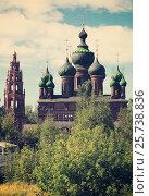 Купить «Saint John the Baptist church in Tolchkovo», фото № 25738836, снято 29 августа 2016 г. (c) Яков Филимонов / Фотобанк Лори