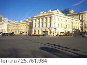 Купить «Малый театр, Москва», фото № 25761984, снято 16 февраля 2017 г. (c) Игорь Потапов / Фотобанк Лори