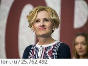 Купить «Ирина Яровая», фото № 25762492, снято 29 марта 2015 г. (c) AK Imaging / Фотобанк Лори