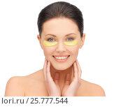 Купить «beautiful young woman face with under-eye patches», фото № 25777544, снято 7 апреля 2012 г. (c) Syda Productions / Фотобанк Лори