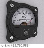 Купить «TQC. Total Quality Control indicator. The percent of implementation», иллюстрация № 25780988 (c) WalDeMarus / Фотобанк Лори
