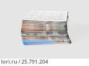 Купить «Set photo cards», фото № 25791204, снято 26 января 2017 г. (c) Александр Малышев / Фотобанк Лори