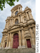 Купить «Church of Saints Gervasius and Protasius», фото № 25791440, снято 19 мая 2016 г. (c) Андрей Андронов / Фотобанк Лори