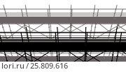 Купить «3d image of construction scaffolding», иллюстрация № 25809616 (c) Wavebreak Media / Фотобанк Лори