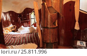Купить «Hang Nga Guesthouse Crazy House, design Interior and Exterior landmark architecture Odd House», видеоролик № 25811996, снято 1 октября 2016 г. (c) Mikhail Davidovich / Фотобанк Лори