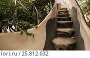 Купить «Hang Nga Guesthouse Crazy House, design Interior and Exterior landmark architecture Odd House», видеоролик № 25812032, снято 1 октября 2016 г. (c) Mikhail Davidovich / Фотобанк Лори