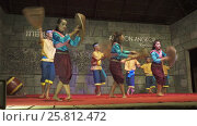 Купить «Khmer classical dancers Apsara Dance Cambodia», видеоролик № 25812472, снято 18 ноября 2016 г. (c) Михаил Коханчиков / Фотобанк Лори