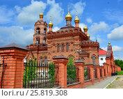 Хвалынская церковь. Стоковое фото, фотограф Виктор Архипов / Фотобанк Лори