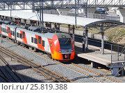 Купить «Станция МЦК «Дубровка»», фото № 25819388, снято 23 марта 2017 г. (c) Павел Москаленко / Фотобанк Лори