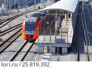 Купить «Станция МЦК «Дубровка»», фото № 25819392, снято 23 марта 2017 г. (c) Павел Москаленко / Фотобанк Лори