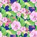 Декоративный узор, цветы  фон, иллюстрация № 25824052 (c) Наталия Кузнецова / Фотобанк Лори