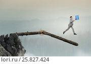 Купить «Overcoming fear of failure . Mixed media», фото № 25827424, снято 4 ноября 2006 г. (c) Sergey Nivens / Фотобанк Лори