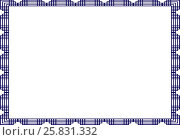 Купить «Изолированный шаблон фон для сертификата или диплома», фото № 25831332, снято 18 февраля 2020 г. (c) Сергей Тихонов / Фотобанк Лори