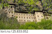 Купить «Convent in rock», фото № 25833052, снято 2 мая 2016 г. (c) Давидич Максим / Фотобанк Лори