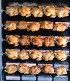 Process of grilling chicken in store, фото № 25833488, снято 28 марта 2017 г. (c) Яков Филимонов / Фотобанк Лори