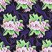 Бесшовный декоративный узор,  цветы, иллюстрация № 25835844 (c) Наталия Кузнецова / Фотобанк Лори