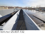 Купить «Wastewater treatment is carried out in aeration tanks of propellant», фото № 25837132, снято 19 марта 2015 г. (c) Losevsky Pavel / Фотобанк Лори