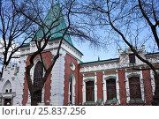 Купить «Театральный музей имени Бахрушина. Москва», фото № 25837256, снято 27 марта 2017 г. (c) Victoria Demidova / Фотобанк Лори