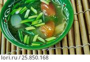 Купить «Lung fung soup», фото № 25850168, снято 28 марта 2017 г. (c) Александр Fanfo / Фотобанк Лори