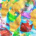 Абстрактный рисунок, гуашь и акварель, иллюстрация № 25859132 (c) Виктор Топорков / Фотобанк Лори