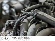 Купить «car engine close up», фото № 25860096, снято 1 июля 2016 г. (c) Syda Productions / Фотобанк Лори