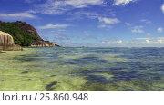 Купить «african island beach in indian ocean», видеоролик № 25860948, снято 13 марта 2017 г. (c) Syda Productions / Фотобанк Лори