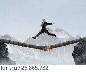 Купить «Overcoming fear of failure . Mixed media . Mixed media», фото № 25865732, снято 9 февраля 2007 г. (c) Sergey Nivens / Фотобанк Лори