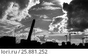 Купить «Массив,строительство», фото № 25881252, снято 20 марта 2017 г. (c) Сергей  Коцюрубский / Фотобанк Лори