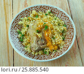 Купить «Mughlai Chicken Pulao», фото № 25885540, снято 3 апреля 2017 г. (c) Александр Fanfo / Фотобанк Лори