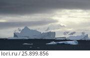 Купить «Beautiful view of icebergs in Antarctica», видеоролик № 25899856, снято 4 апреля 2017 г. (c) Vladimir / Фотобанк Лори