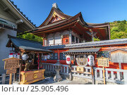 Купить «Kiyomizu Dera temple in Kyoto , Japan», фото № 25905496, снято 20 июля 2019 г. (c) BE&W Photo / Фотобанк Лори