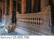 Купить «Bagaya Monastery (Maha Waiyan Bontha Bagaya), Inwa, Mandalay Region, myanmar (Burma)», фото № 25905708, снято 8 июля 2020 г. (c) BE&W Photo / Фотобанк Лори