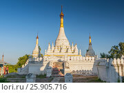 Купить «Maha Aung Mye Bom San Monastery complex, Inwa, Mandalay Region, Burma», фото № 25905716, снято 8 июля 2020 г. (c) BE&W Photo / Фотобанк Лори