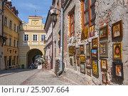 Купить «The Grodzka gate in Jewish part of old town Lublin, Poland», фото № 25907664, снято 22 марта 2019 г. (c) BE&W Photo / Фотобанк Лори