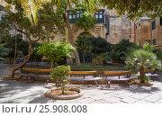 Купить «The Prince Alfred's Courtyard of the Grandmaster's Palace. Valletta. Malta», фото № 25908008, снято 31 июля 2015 г. (c) Serg Zastavkin / Фотобанк Лори