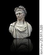 Купить «Roman marble sculpture bust of Emperor Claudius 41-54 AD, inv 6068, Naples Museum of Archaeology, Italy.», фото № 25911320, снято 12 июня 2011 г. (c) age Fotostock / Фотобанк Лори
