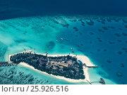 Купить «Atolls of Maldives», фото № 25926516, снято 19 августа 2018 г. (c) М / Фотобанк Лори