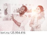 Купить «Composite image of stocks and shares», фото № 25954416, снято 18 октября 2018 г. (c) Wavebreak Media / Фотобанк Лори