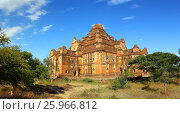 Купить «Dhammayangyi Pagoda in Bagan Myanmar», фото № 25966812, снято 25 января 2016 г. (c) Михаил Коханчиков / Фотобанк Лори