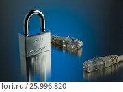 The concept of an encrypted Internet connection, фото № 25996820, снято 14 апреля 2017 г. (c) Александр Якимов / Фотобанк Лори
