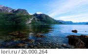 Купить «Beautiful Nature Norway.», видеоролик № 26000264, снято 15 апреля 2017 г. (c) Андрей Армягов / Фотобанк Лори