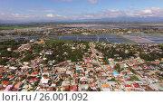 Vietnamese settlements along the sea (2017 год). Стоковое видео, видеограф Pavel Shumeiko / Фотобанк Лори